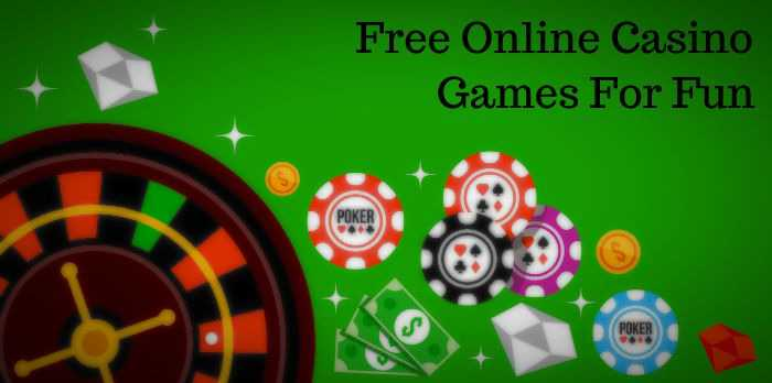 Why To Play Free Online Casino Games For Fun Casino Online Games